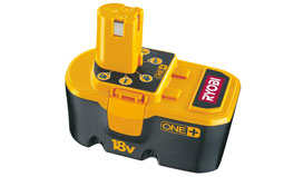 BS 1220 Aku baterie/Slide-On-Systém Ryobi