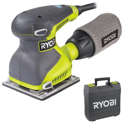 RYOBI EOS 2410 NHG - 114 mm Vibrační bruska