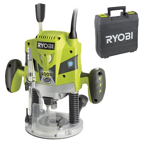 RYOBI ERT 1400 RV - 1 400 W Horní frézka